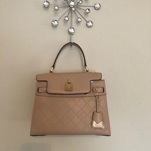 Nwt MICHAEL KORS MK Bag Gramercy Leather PINK